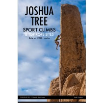 Joshua Tree Sport Climbs and Top Rope Sites - BACKORDER ONLY - Shipping Dec.1st.